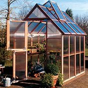 Woodframe Greenhouse